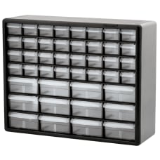 Akro Mils Plastic 44 Drawer Stackable