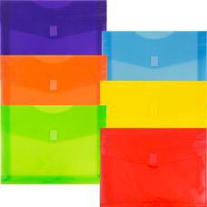 JAM Paper Plastic Envelopes With Hook