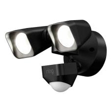 Ring Smart Lighting Wired Floodlight Black