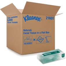 Kleenex Naturals Facial Tissue 125 Sheets