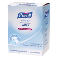 Purell Sanitizing Wipes Box Of 40