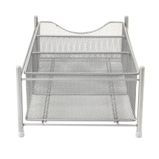 Mind Reader 3 Compartment Metal Mesh