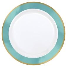 Amscan Plastic Plates 10 14 WhiteRobins
