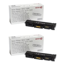 Xerox 106R02777 High Yield Black Toner