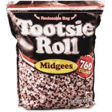 Tootsie Advantus Roll Midgees Candy Chocolate