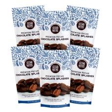 Second Nature Premium Chocolate Splashes Pecan