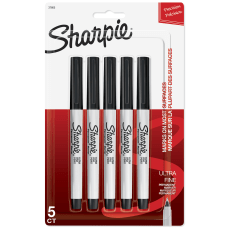 Sharpie Permanent Ultra Fine Point Markers