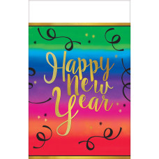 Amscan New Years Plastic Table Covers