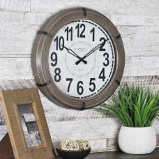 FirsTime Rustic Wall Clock 14 x