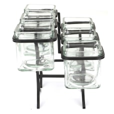Mind Reader Condiment Serving Jar Stand