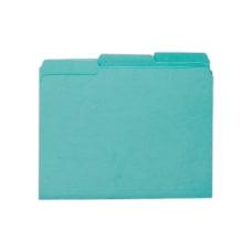 Smead Interior Folders Letter Size Aqua