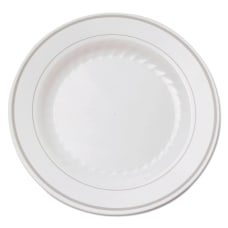 WNA Masterpiece Plastic Round Plates 6