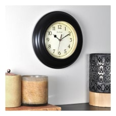FirsTime Co Plastic Wall Clock Oil