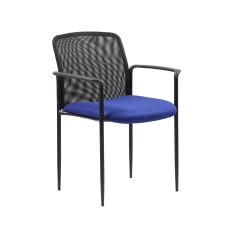 Boss Office Products Stackable Mesh Guest