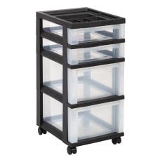 Office Depot Brand Plastic 4 Drawer