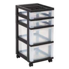 Office Depot Brand Plastic Storage Cart