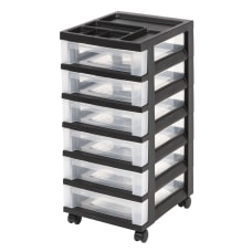 Office Depot Brand Plastic 6 Drawer
