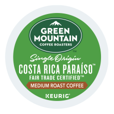 Green Mountain Coffee Costa Rica Para