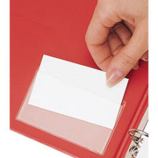 Cardinal HOLDit Business Card Pockets Top