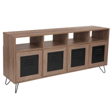 Flash Furniture 4 Shelf Storage Console