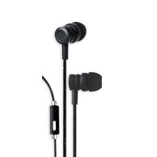 Bytech Wired Earbud Headphones Black BYAUEB129BK
