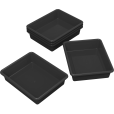 Storex Flat Storage Trays Small Size