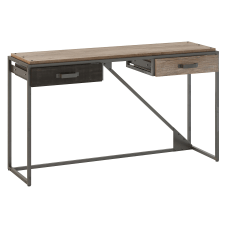 Bush Furniture Refinery Console Table With