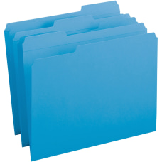 Business Source Reinforced Tab Colored File