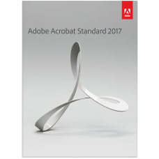 Adobe Acrobat Standard 2017 Download