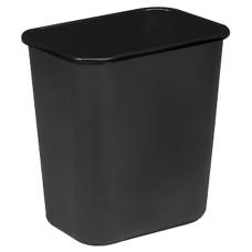 Sparco Rectangular Wastebasket 7 Gallons 15