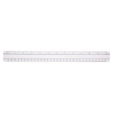 Acme Magnifying Ruler Clear 12