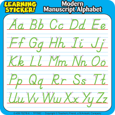 Scholastic Reinforcement Stickers Modern Manuscript 4