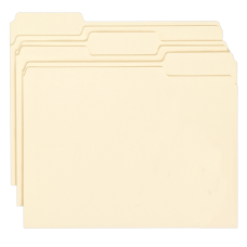 Smead Manila Folders With Antimicrobial Protection