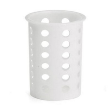 Tablecraft Plastic Flatware Cylinder 4 12