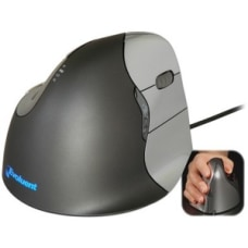 Evoluent VerticalMouse 4 Right Mouse Optical