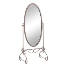 Linon Scarlett Metal Cheval Mirror 63