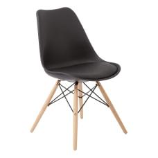Ave Six Allen Guest Chair BlackNatural