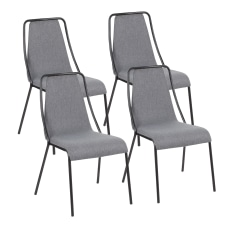 LumiSource Katana Chairs BlackDark Blue Set