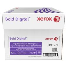 Xerox Bold Digital Printing Paper Ledger