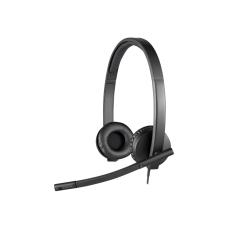 Logitech H570E USB Stereo Headset Black