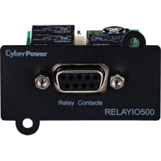 CyberPower RELAYIO500 Network Management Card Black