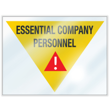 ComplyRight Essential Company Personnel Window Clings