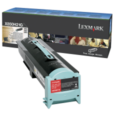 Lexmark X850H21G High Yield Black Toner