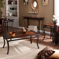Southern Enterprises Modesto Tables Espresso Set