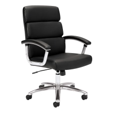 HON Traction Executive Bonded Leather Chair