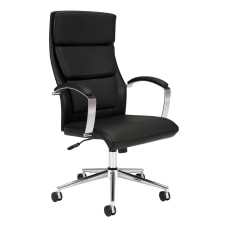 HON Bonded Leather High Back Chair