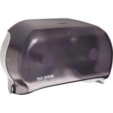 San Jamar Dual Roll Tissue Dispenser