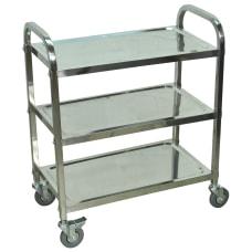 Luxor L100S3 Stainless Steel 3 Shelf