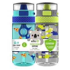 Ello Stratus Kids Tritan Water Bottles