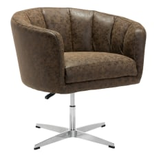 Zuo Modern Wilshire Occasional Chair Vintage